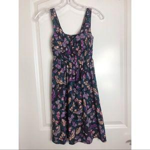 H&M Butterfly Summer Dress Sz 2